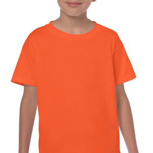 Orange - Heavy Cotton Youth T-Shirt-Country Gone Crazy-Country Gone Crazy
