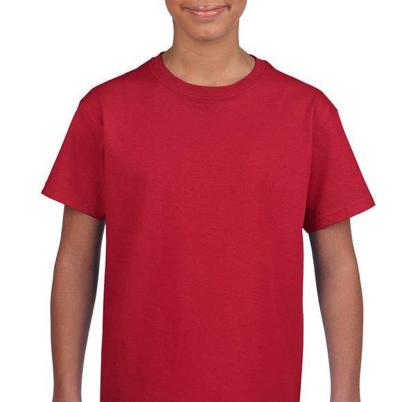 Cherry Red - Heavy Cotton Youth T-Shirt-Country Gone Crazy-Country Gone Crazy