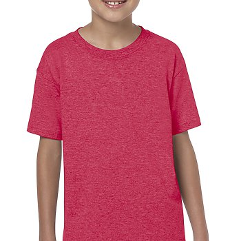 Heather Red - SoftStyle Youth T-Shirt-Country Gone Crazy-Country Gone Crazy