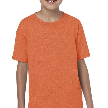 Heather Orange - SoftStyle Youth T-Shirt-Country Gone Crazy-Country Gone Crazy
