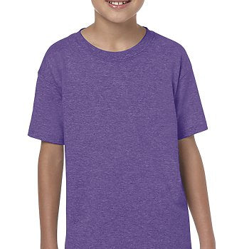 Heather Purple - SoftStyle Youth T-Shirt-Country Gone Crazy-Country Gone Crazy