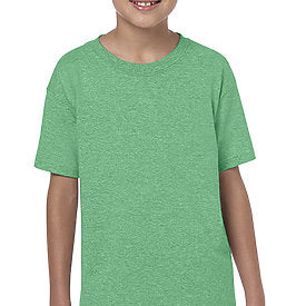 Heather Irish Green - SoftStyle Youth T-Shirt-Country Gone Crazy-Country Gone Crazy