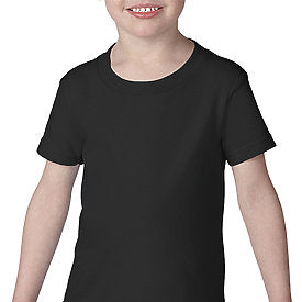 Black Gildan SoftStyle Toddler T-Shirt-Country Gone Crazy-Country Gone Crazy