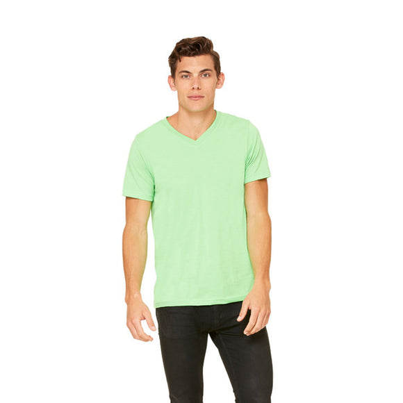 Bella Canvas - Neon Green - Unisex V-Neck-Country Gone Crazy-Country Gone Crazy