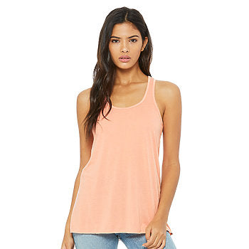 Bella Canvas Women's Flowy Racerback Tank - Sunset-Country Gone Crazy-Country Gone Crazy