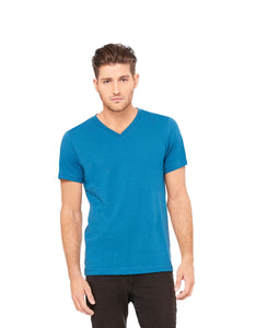 Bella Canvas - Deep Teal - Unisex V-Neck-Country Gone Crazy-Country Gone Crazy