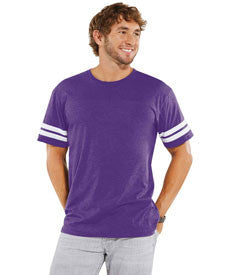 Vintage Purple - Football Tee-Country Gone Crazy-Country Gone Crazy
