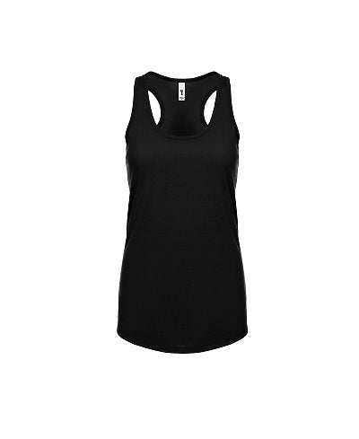 Next Level Women's Ideal Racerback Tank - Black-Country Gone Crazy-Country Gone Crazy
