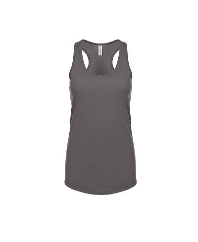 Next Level Women's Ideal Racerback Tank - Dark Grey-Country Gone Crazy-Country Gone Crazy