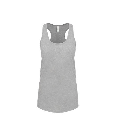 Next Level Women's Ideal Racerback Tank - Heather Grey-Country Gone Crazy-Country Gone Crazy