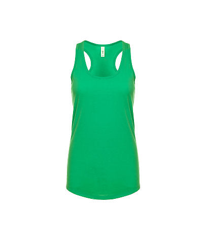 Next Level Women's Ideal Racerback Tank - Kelly Green-Country Gone Crazy-Country Gone Crazy