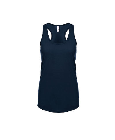 Next Level Women's Ideal Racerback Tank - Midnight Navy-Country Gone Crazy-Country Gone Crazy