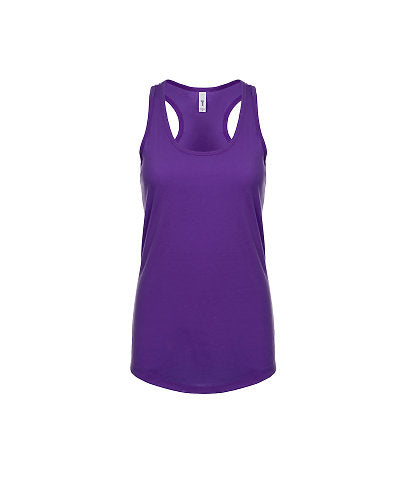Next Level Women's Ideal Racerback Tank - Purple Rush-Country Gone Crazy-Country Gone Crazy