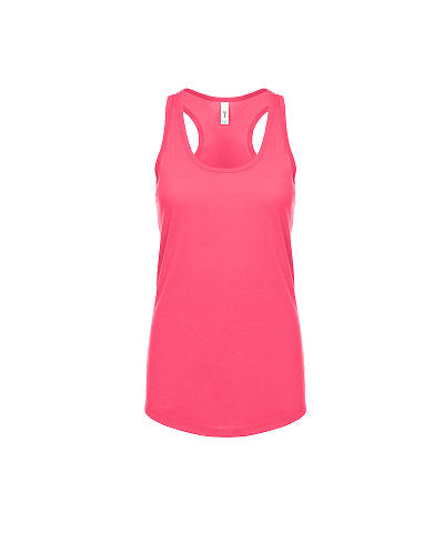 Next Level Women's Ideal Racerback Tank - Hot Pink-Country Gone Crazy-Country Gone Crazy