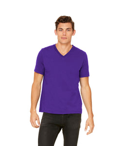 Bella Canvas - Team Purple - Unisex V-Neck-Country Gone Crazy-Country Gone Crazy