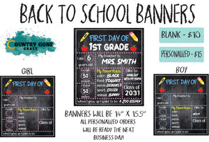 Back to School Banner-Country Gone Crazy-Country Gone Crazy