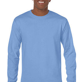 Carolina Blue - Adult Long Sleeve Shirt-Country Gone Crazy-Country Gone Crazy