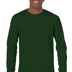Forest Green - Adult Long Sleeve Shirt-Country Gone Crazy-Country Gone Crazy