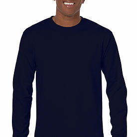Navy - Adult Long Sleeve Shirt-Country Gone Crazy-Country Gone Crazy