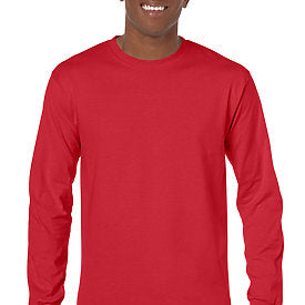 Red - Adult Long Sleeve Shirt-Country Gone Crazy-Country Gone Crazy