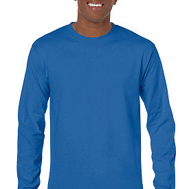 Royal Blue - Adult Long Sleeve Shirt-Country Gone Crazy-Country Gone Crazy