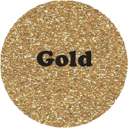 Gold - Glitter Heat Transfer Vinyl-Country Gone Crazy-Country Gone Crazy