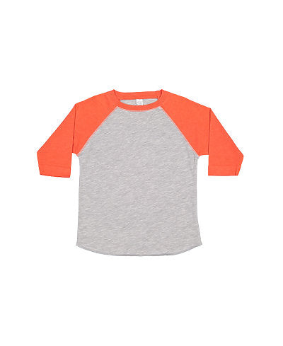 Youth LAT - Orange Sleeve with Grey Body-Country Gone Crazy-Country Gone Crazy