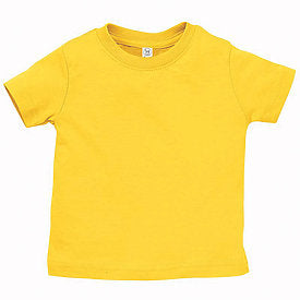 Yellow Infant Fine Jersey T-Shirt-Country Gone Crazy-Country Gone Crazy