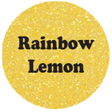 Rainbow Lemon - Glitter Heat Transfer Vinyl-Country Gone Crazy-Country Gone Crazy