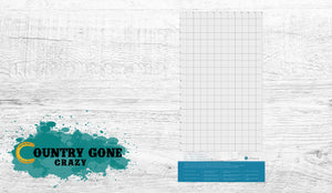 "12"" x 24"" Cutting Mat-Country Gone Crazy-Country Gone Crazy"