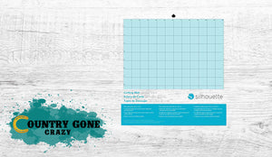 "12"" x 12"" Cutting Mat (Trilingual)-Country Gone Crazy-Country Gone Crazy"