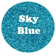 Sky Blue - Glitter Heat Transfer Vinyl-Country Gone Crazy-Country Gone Crazy