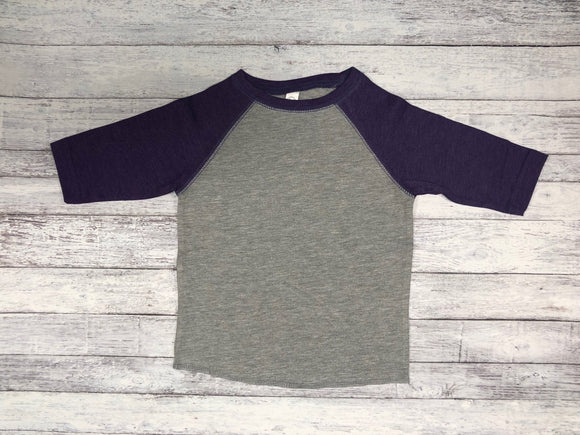 Rabbit Skins - Grey Body with Vintage Navy Sleeves-Country Gone Crazy-Country Gone Crazy