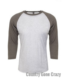 Next Level - Venetian Gray with Heather White Body-Country Gone Crazy-Country Gone Crazy