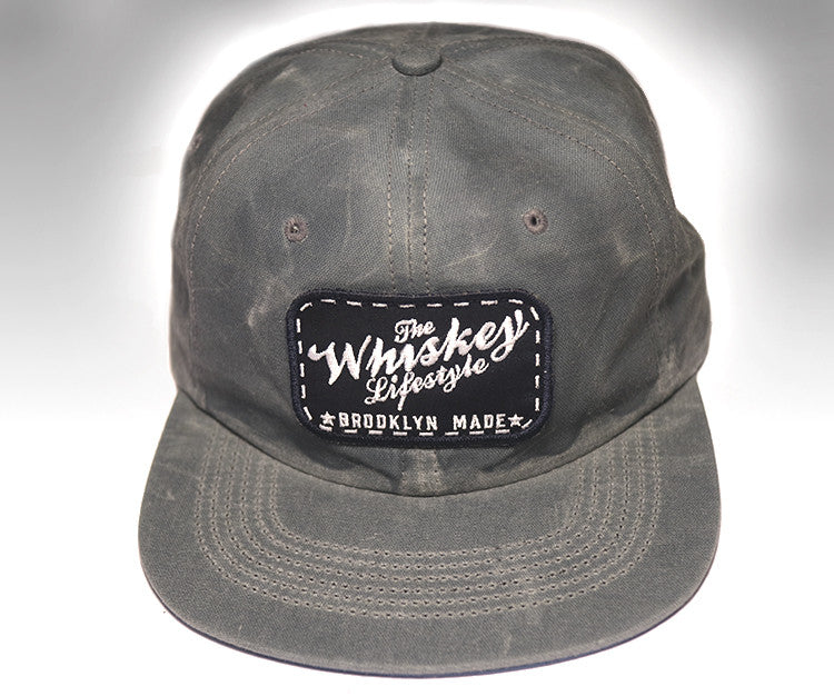The Whiskey Lifestyle Patch Slate Hat