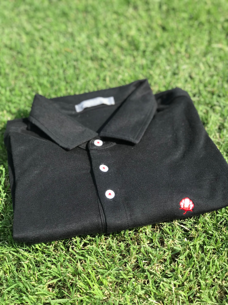 The Tailgate Polo - Black