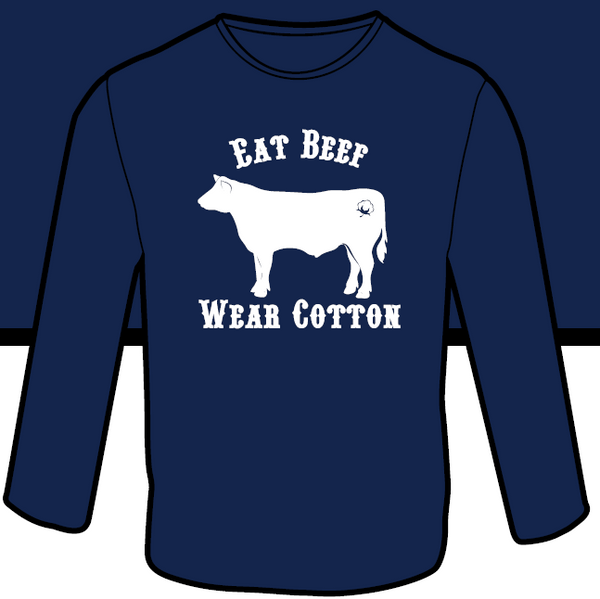Eat Beef. Wear Cotton. LS