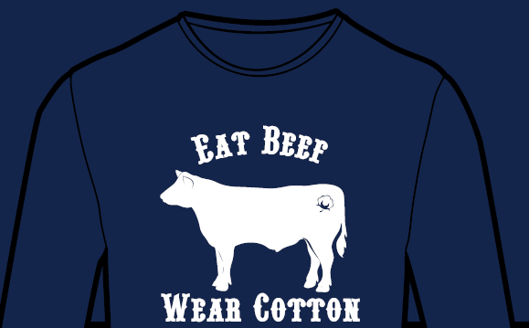Eat Beef. Wear Cotton. SS
