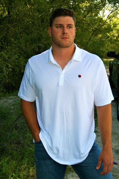 The Tailgate Polo - White