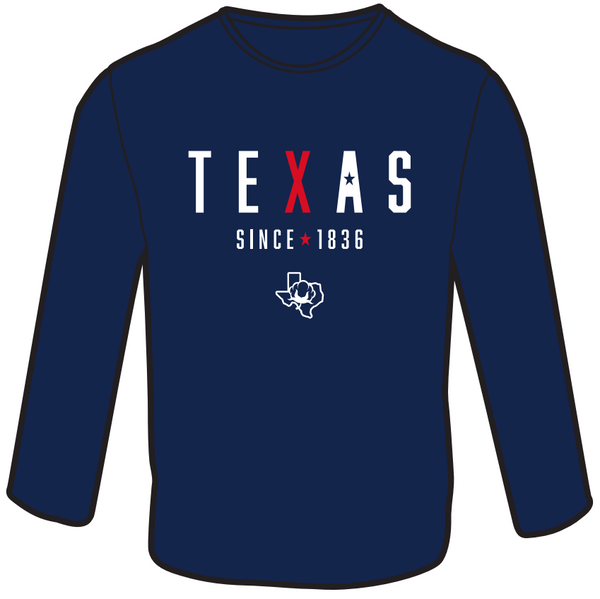 TEXAS 1836! Long Sleeve