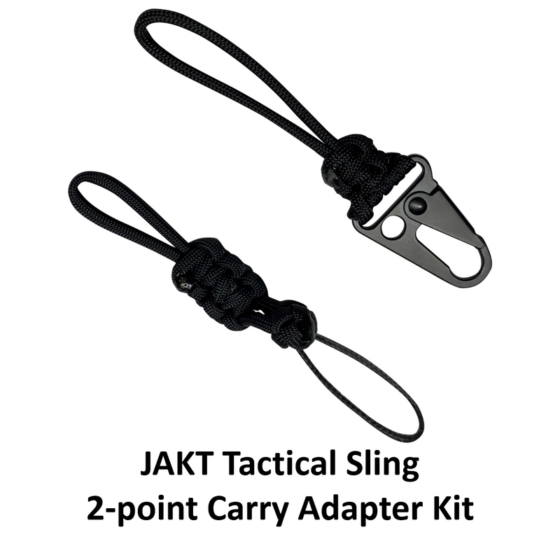 JAKT Tactical Sling - 2-point Carry Adapter Kit - JAKT GEAR