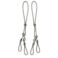 Double Loop Call Drops for Modular Waterfowl Call Lanyards (2-pack) - JAKT GEAR