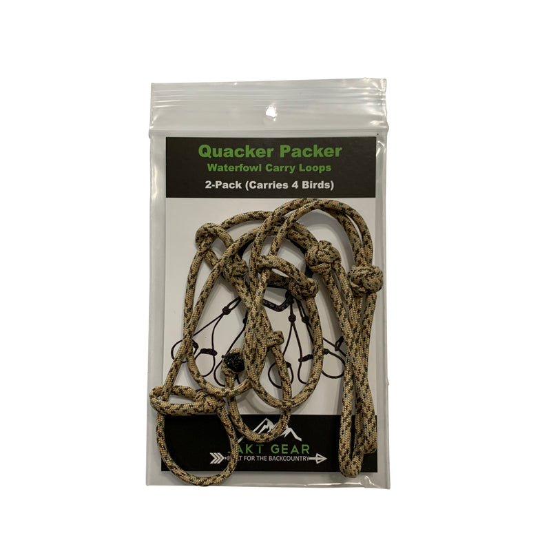 Quacker Packer Replacement/Additional Waterfowl Carry Loops - JAKT GEAR