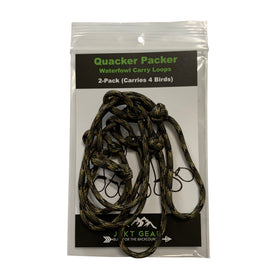 Quacker Packer Paracord Waterfowl Carry Loop Assemblies (2-pack)