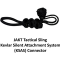 JAKT Tactical Sling - Single-point, Paracord Crossbow/Black Rifle Sling w/Kevlar Silent Attachment System (KSAS) - JAKT GEAR