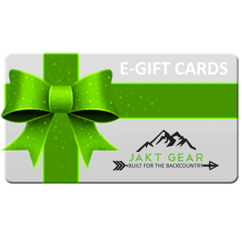 Instant E-Gift Cards - JAKT GEAR