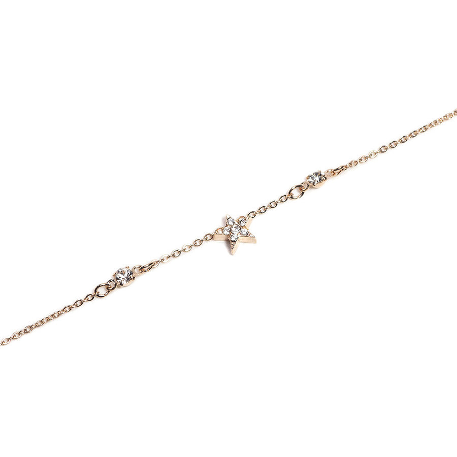 WISH UPON A SHINNING STAR CHAIN BRACELET
