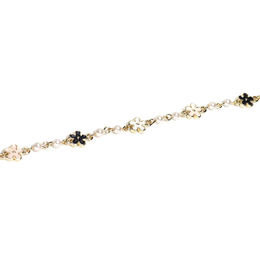 THE FLORAL PARTY PEARL BRACELET
