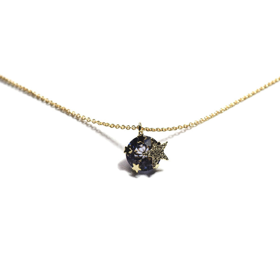 GLOWING STARRY PLANET CHAIN NECKLACE