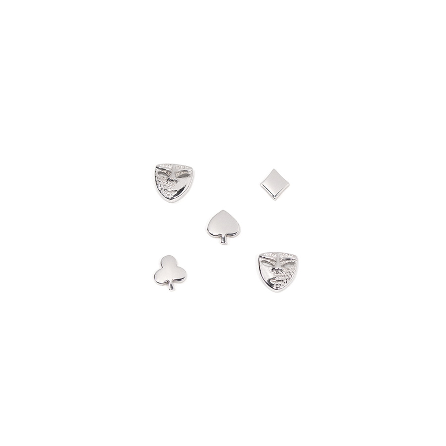 POKER FACE - EARRINGS PACK-Earring-Meguro